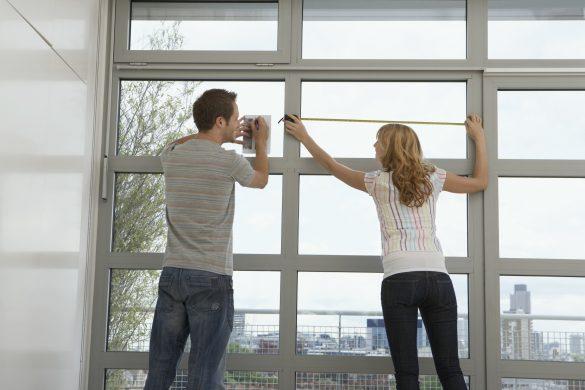 Opmåling af vinduer